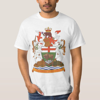 Manitoba Coat of Arms (big) T-shirt