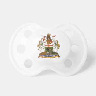 Manitoba Coat of Arms Pacifiers