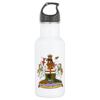 Manitoba Coat of Arms Water Bottle