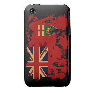 Manitoba Flag Case-Mate iPhone 3 Case