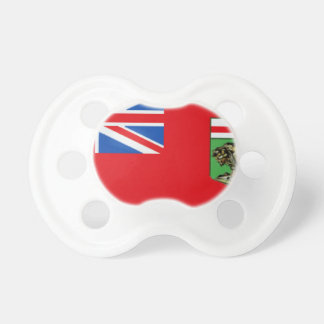 Manitoba Flag Baby Pacifiers