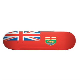 Manitoba Flag Skateboard