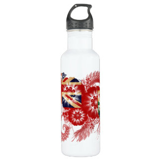 Manitoba Flag Stainless Steel Water Bottle