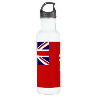 Manitoba Flag Water Bottle