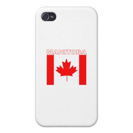 Manitoba iPhone 4/4S Carcasas