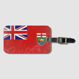 Manitoba Luggage Tag