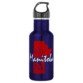 Manitoba Stainless Steel Water Bottle