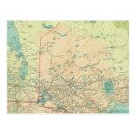Manitoba y Ontario del noroeste Postales