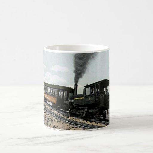 Manitou salta, ferrocarril de diente de Colorado h Tazas De Café