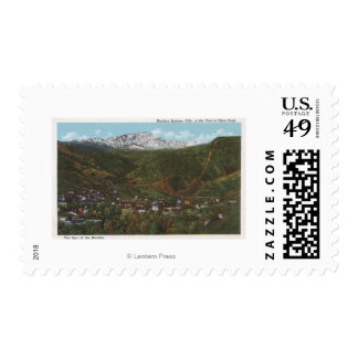 Manitou Springs, CO - The Spa of the Rockies Stamp
