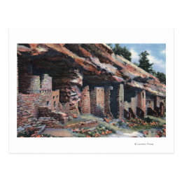Manitou Springs, Colorado - Cliff Dwellings Postcard