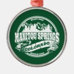 Manitou Springs Old Circle Green Christmas Tree Ornament