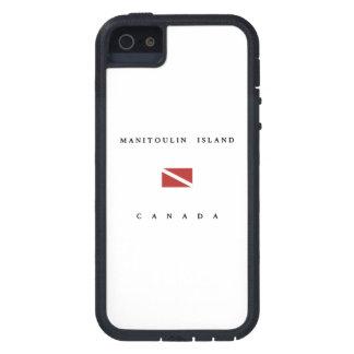 Manitoulin Island Canada Scuba Dive Flag Case For iPhone SE/5/5s