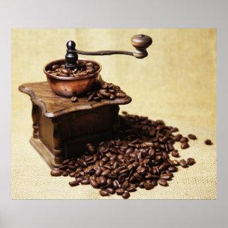 Manivela molinillo de café posters
