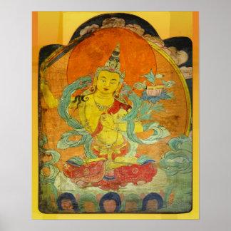 Manjushri, Bodhisattva de la sabiduría Poster