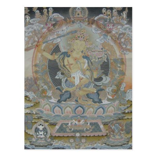 Manjushri Postcard