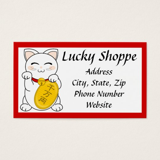 Mankei Neko Business Card