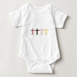 Mankind humans one child humans baby bodysuit