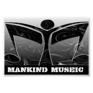 Mankind Museic Poster