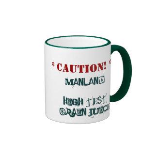 Manland High Test - Ringer Mug