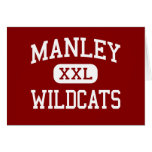 Manley - Wildcats - High School - Chicago Illinois Greeting Cards