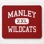 Manley - Wildcats - High School - Chicago Illinois Mouse Pads