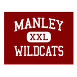 Manley - Wildcats - High School - Chicago Illinois Post Cards