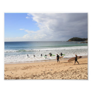Manly Beach Photograph