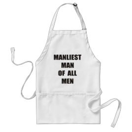 Manly Cook Adult Apron