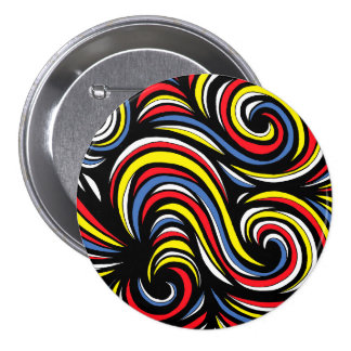 Manly Funny Creative Excellent 3 Inch Round Button