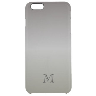 Manly Green-Gray Red-Gray Clear iPhone 6 Plus Case