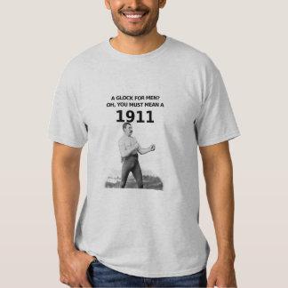 Manly man 1911 t-shirt