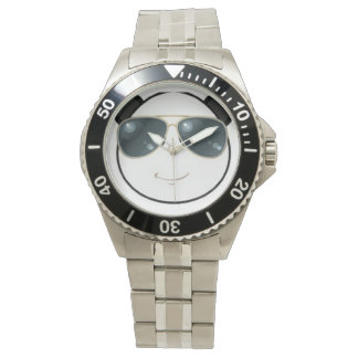 Manly Man Kool Kat Panda Emoji Wristwatch