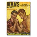 Manly Men Arm Wrestle