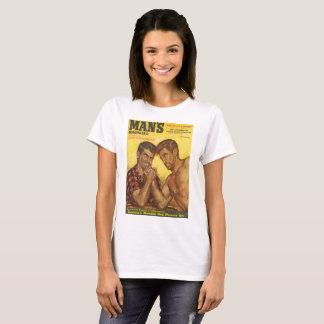 Manly Men Arm Wrestle T-Shirt