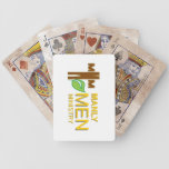 """Manly Men Ministry """"Distressed"""" Playing Cards"""