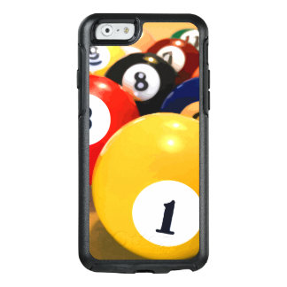 Manly Mens Billiards Theme OtterBox iPhone 6/6s Case