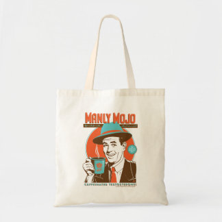 Manly Mojo Coffee Tote Bag