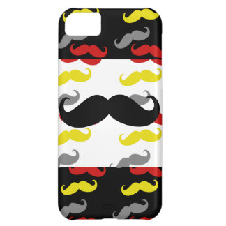 Manly Mustache Hair Colors iPhone 5C Cover