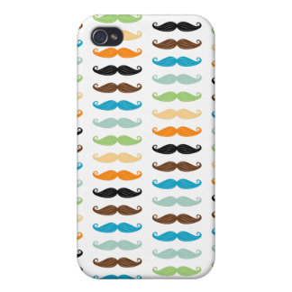 Manly Mustaches iPhone 4/4S Covers