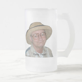 Manly Pearl - Frosted Mug