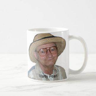 Manly Pearl Mug Mugs