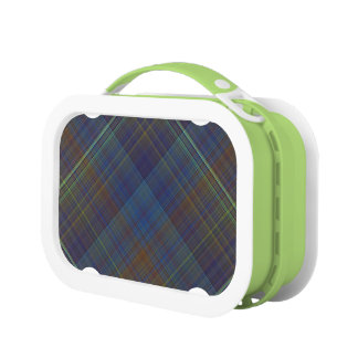 Manly Plaid Lunch Box