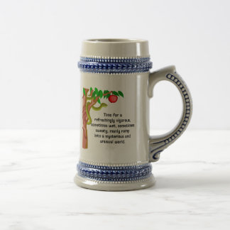 Manly Romp Beer Stein