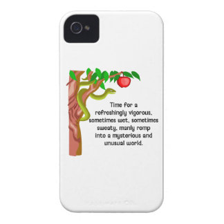 Manly Romp iPhone 4 Case