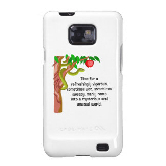 Manly Romp Galaxy SII Case