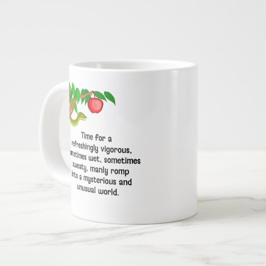 Manly Romp Large Coffee Mug
