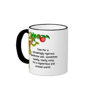 Manly Romp Ringer Mug