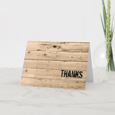Manly Thank You Card Zazzle Com