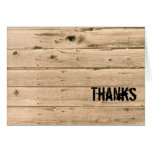 Manly Thank You Notes Cards